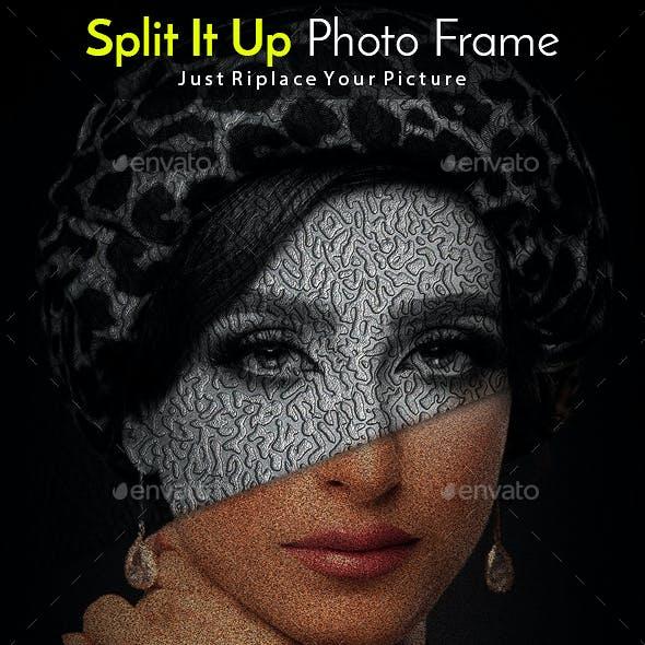 Split It Up Photo Template