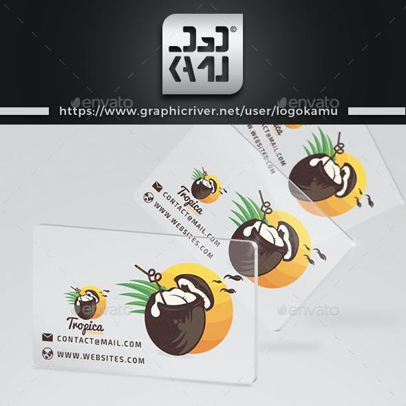 Tropical Coconut Drinks Logo
