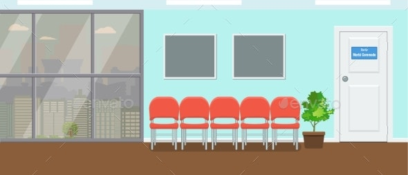 Waiting Room for Patients at Dental Office - Health/Medicine Conceptual