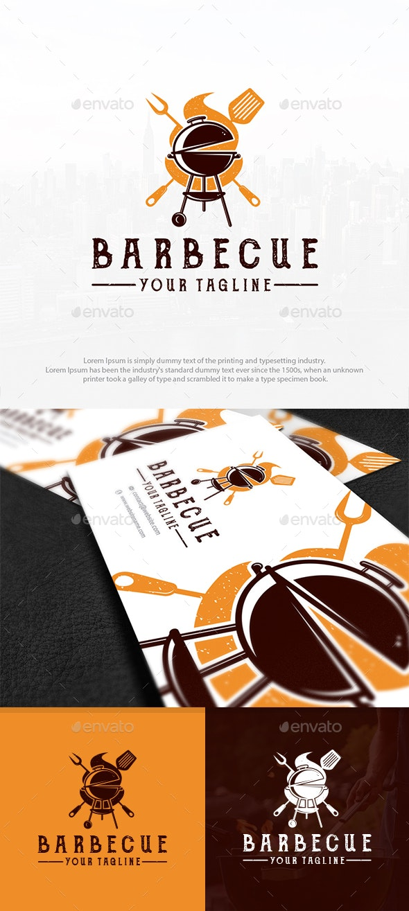 The Grill Party Logo - Food Logo Templates
