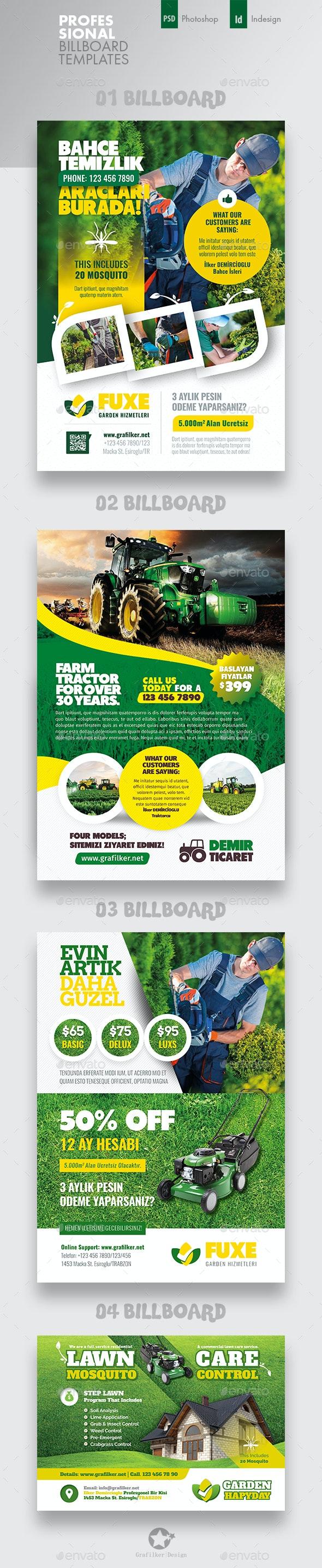 Garden Landspace Flyer Bundle Templates - Corporate Flyers