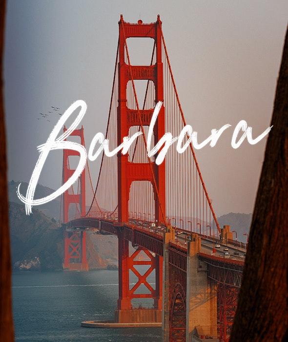 Barbara - Script Fonts