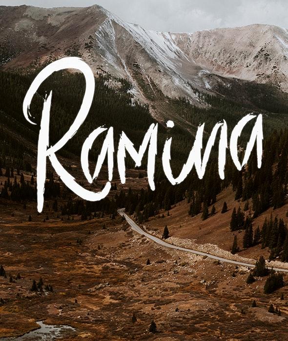 Ramina - Decorative Fonts