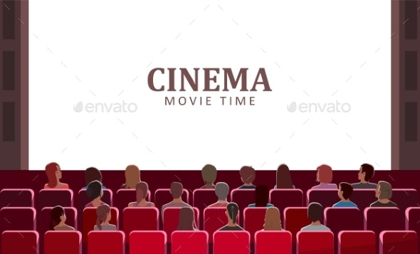 Cinema Movie Time - Man-made Objects Objects