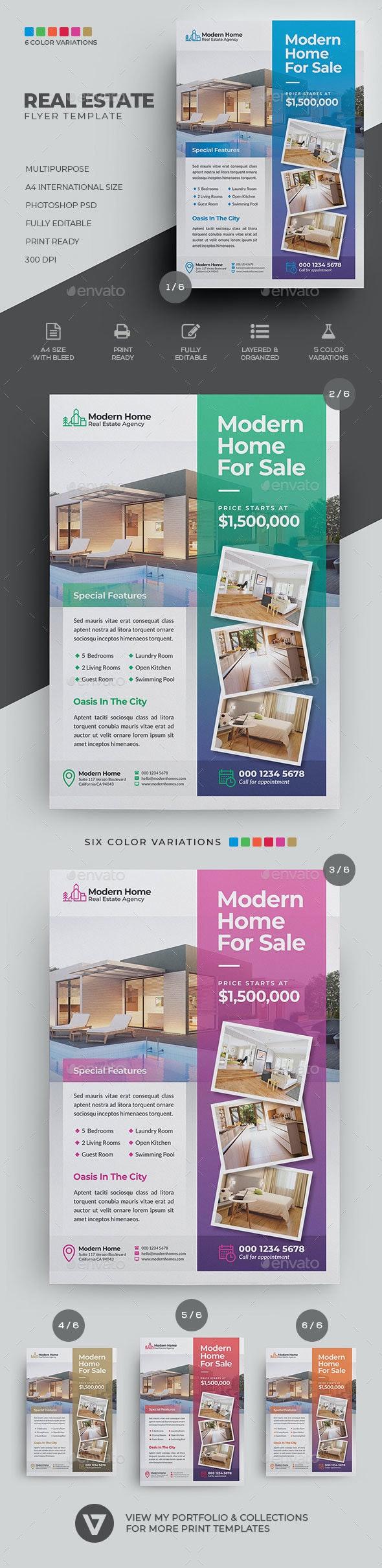 Real Estate Flyer - Commerce Flyers