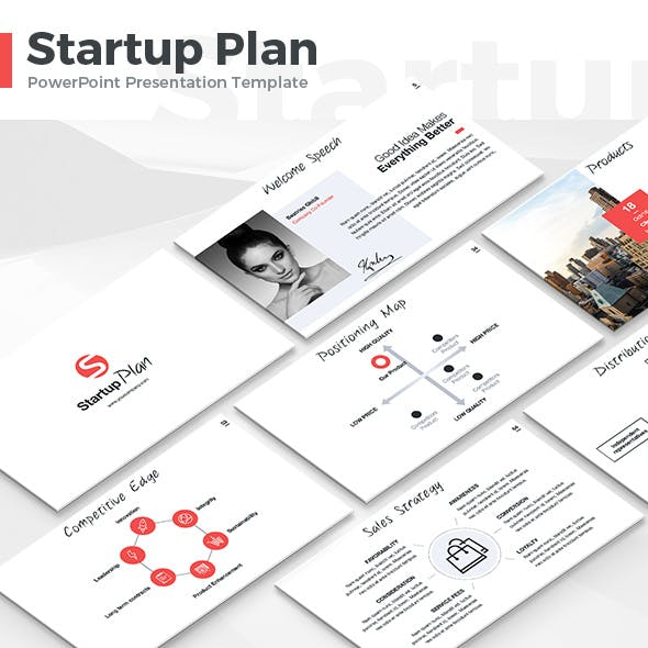 Startup Plan - PowerPoint Template by Jetz