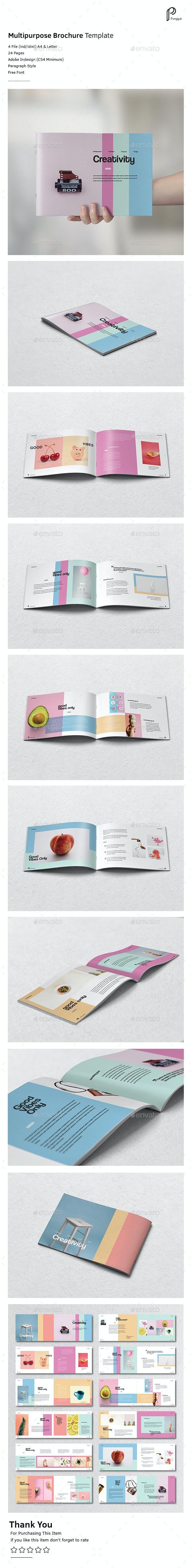 Colorful Brochure Vol.3 - Portfolio Brochures