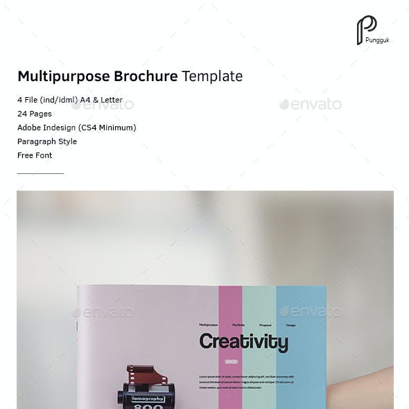 Colorful Brochure Vol.3