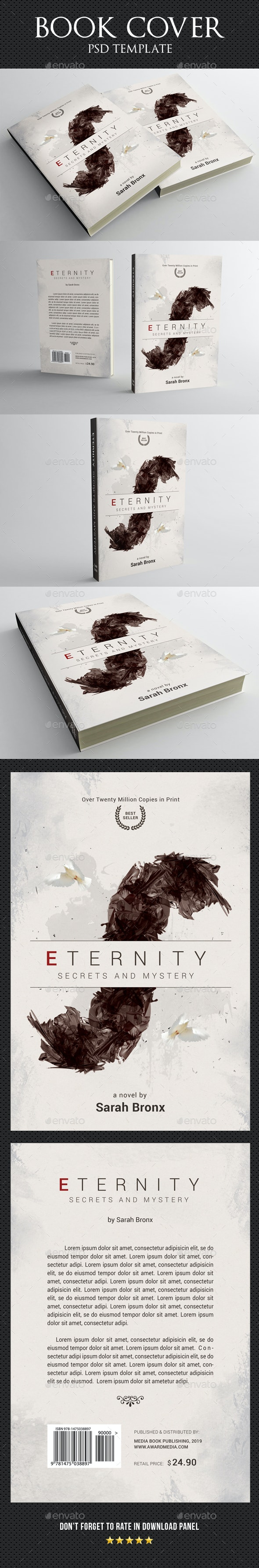 Book Cover Template 60 - Miscellaneous Print Templates