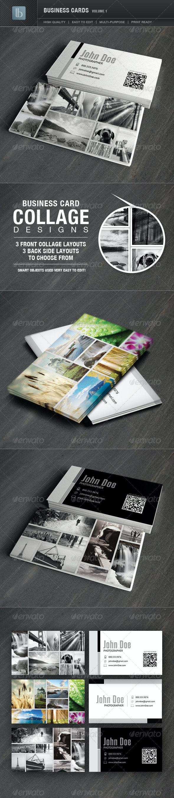 Business Cards | Volume 1 - Business Cards Print Templates