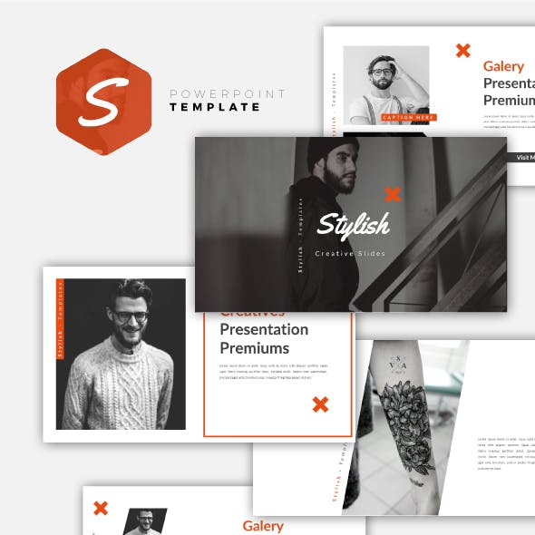 Stylish - Creative PowerPoint Template