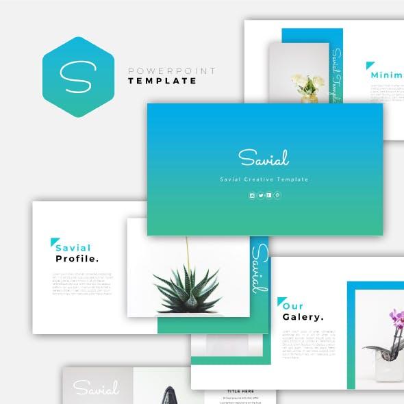 Savial - Creative PowerPoint Template