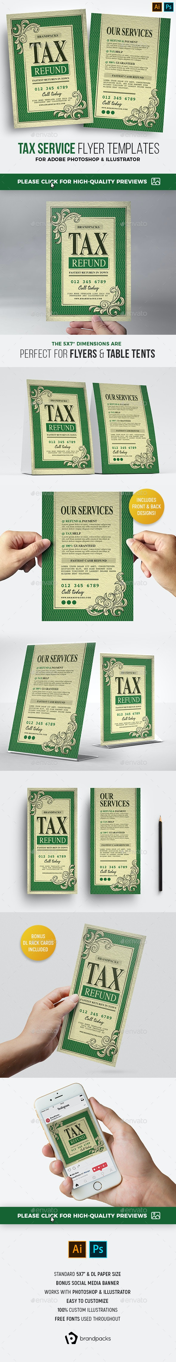 Tax Refund Flyer - Corporate Flyers