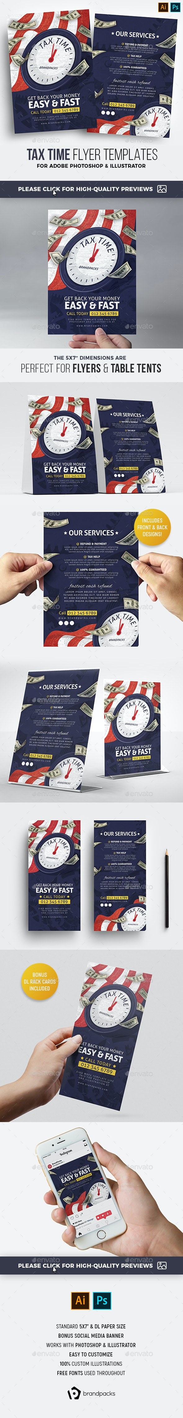 Tax Time Flyer - Corporate Flyers