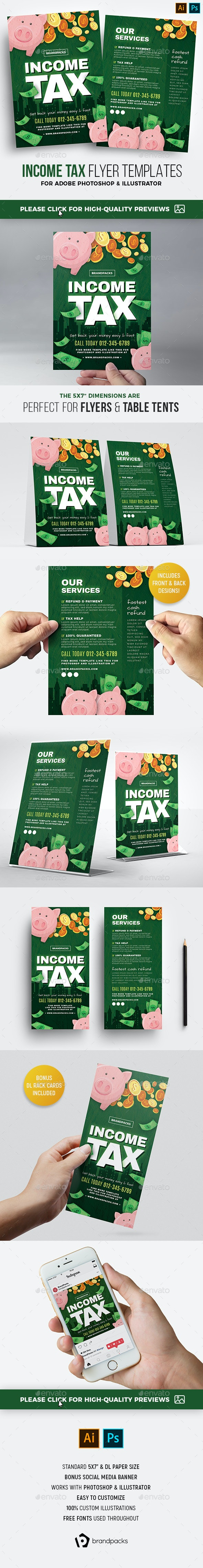 Income Tax Flyer - Corporate Flyers