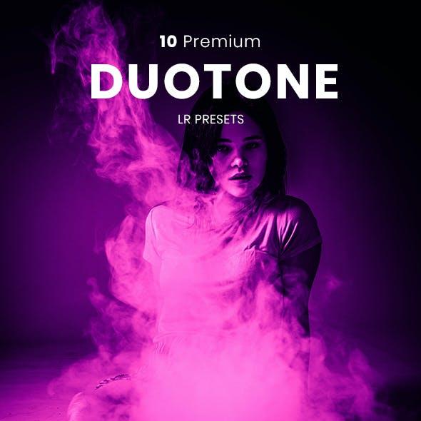 10 Duotone Premium Lightroom Presets