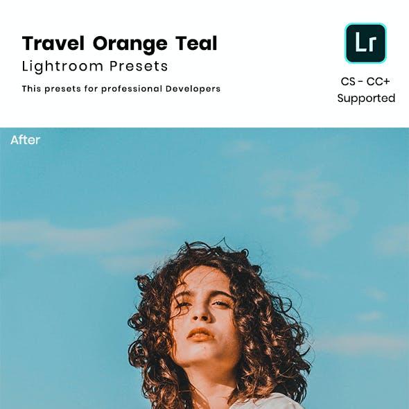Travel Orange Teal Lightroom Presets