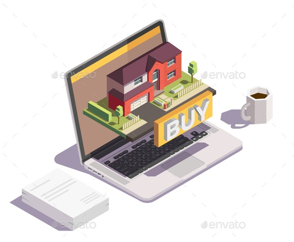 Buy Villa Online Composition - Buildings Objects