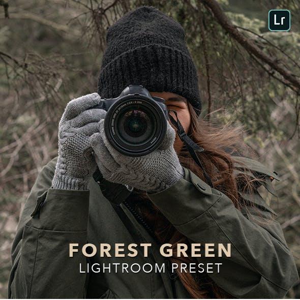Forest Green - Professional Lightroom Preset