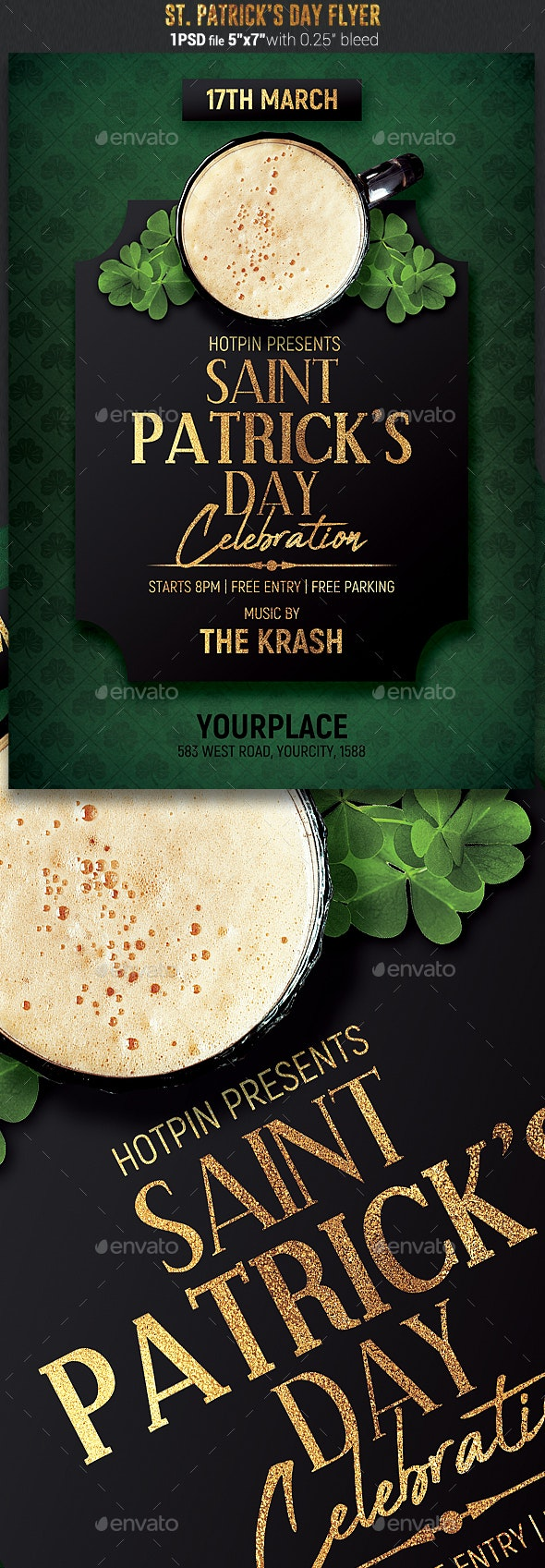 St. Patricks Day Flyer Template - Events Flyers