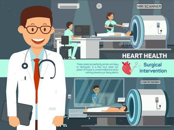 Medical Examination in Clinic Vector Illustration - Health/Medicine Conceptual