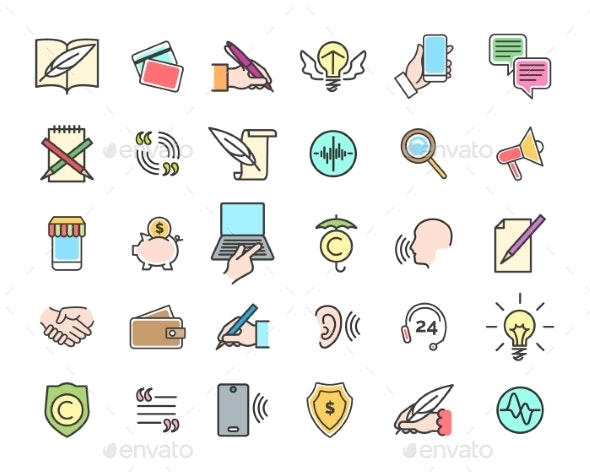 Viral Marketing Icons - Miscellaneous Vectors