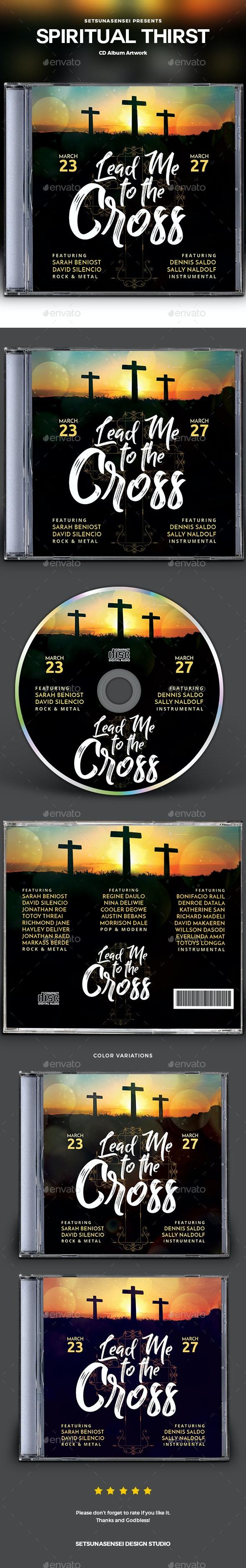 Lead Me to the Cross CD Album Artwork - CD & DVD Artwork Print Templates