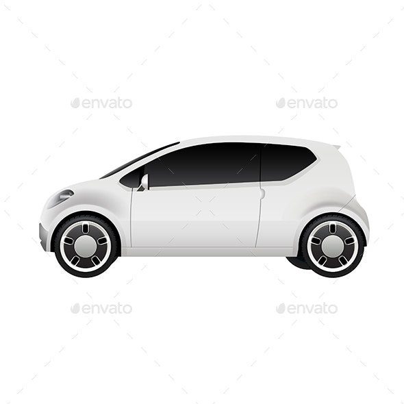 Electric City Car - Man-made Objects Objects