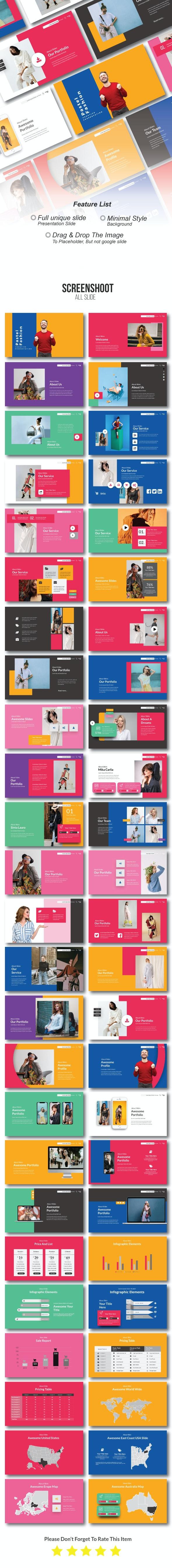 Pastel Fashion Creative Powerpoint - Creative PowerPoint Templates