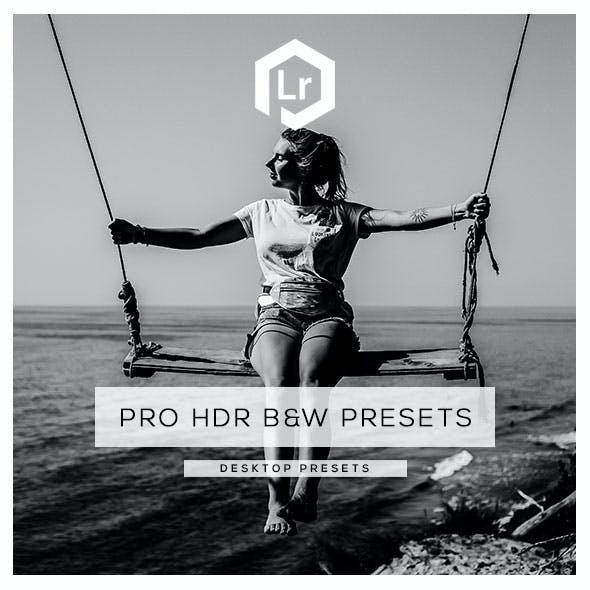 26 Pro HDR Black & White  Presets