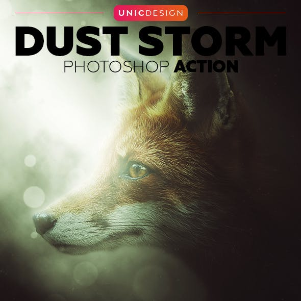 Dust Storm Photoshop Action