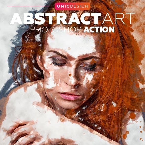 AbstractArt Photoshop Action