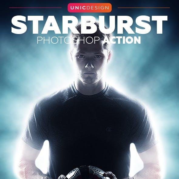 Starburst Photoshop Action