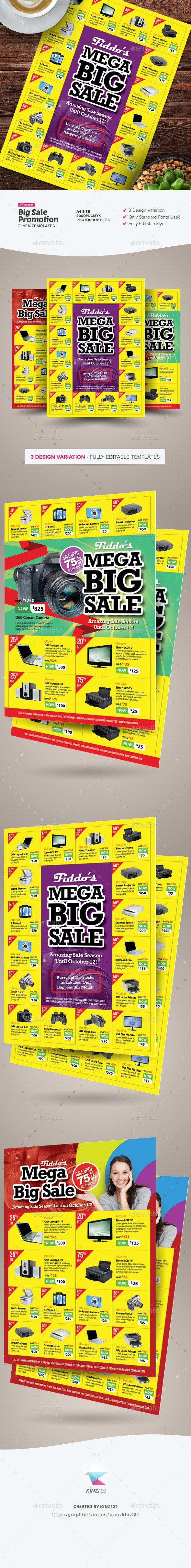 Big Sale Promotion Flyers - Commerce Flyers