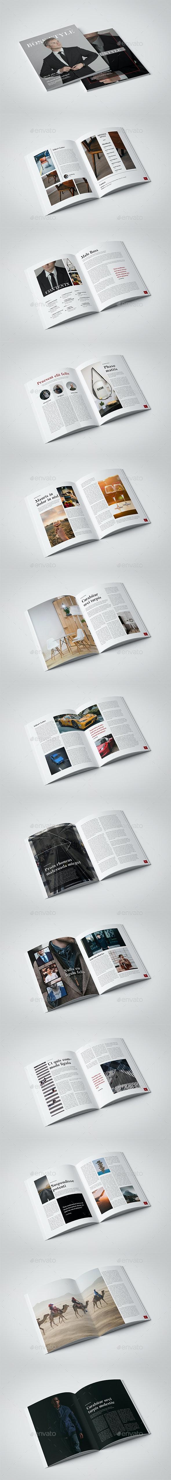 InDesign Leisure Magazine Template - Magazines Print Templates