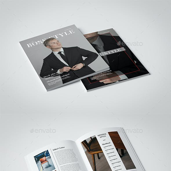 InDesign Leisure Magazine Template