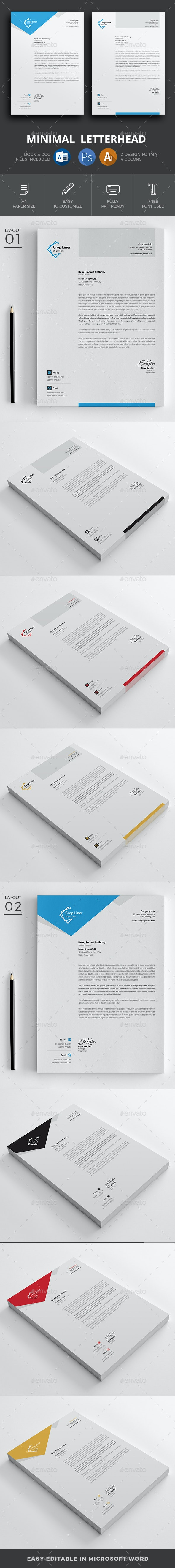 Letterhead - Resumes Stationery