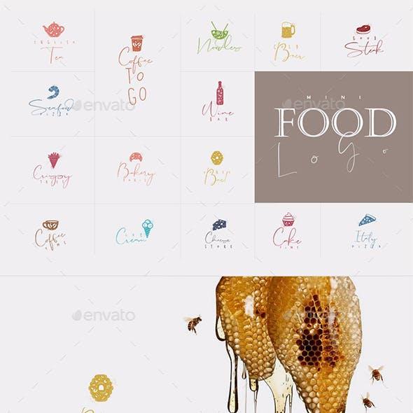 Mini Food Logo