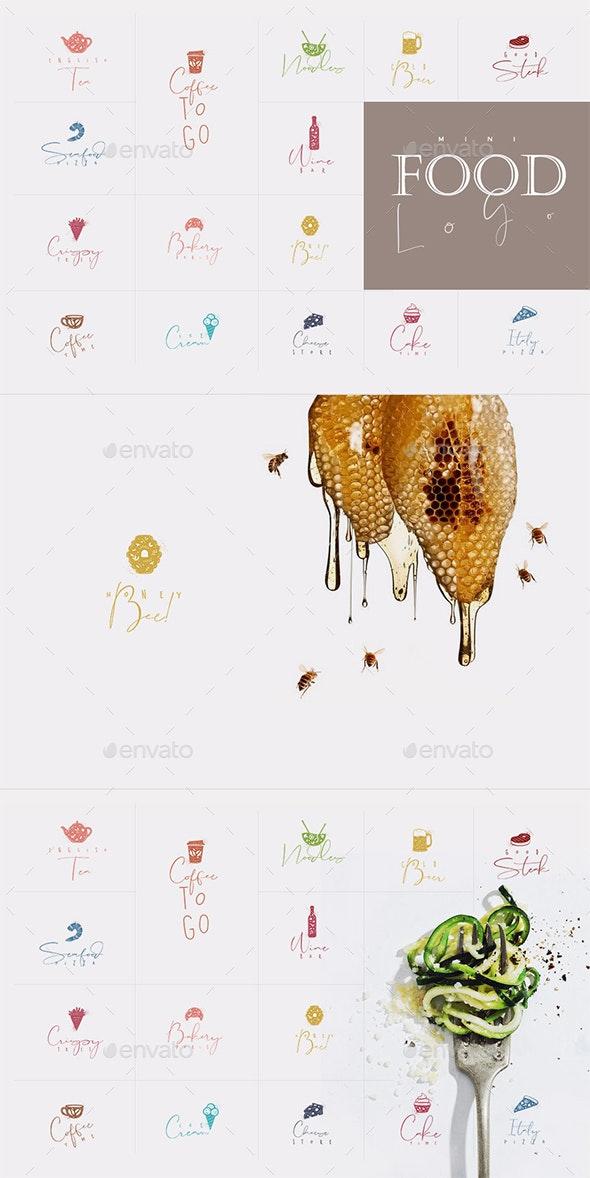 Mini Food Logo - Food Objects