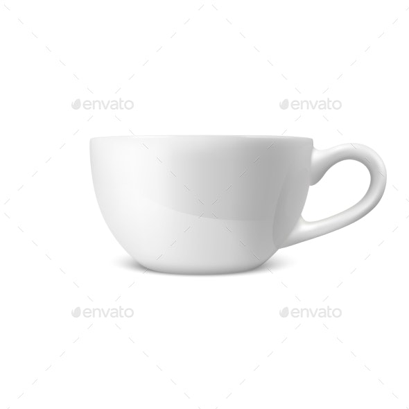 Realistic Vector Coffee Tea - Food Objects