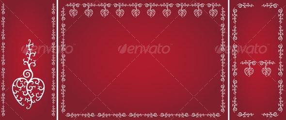 Valentine's Day Ornaments Pack - Valentines Seasons/Holidays