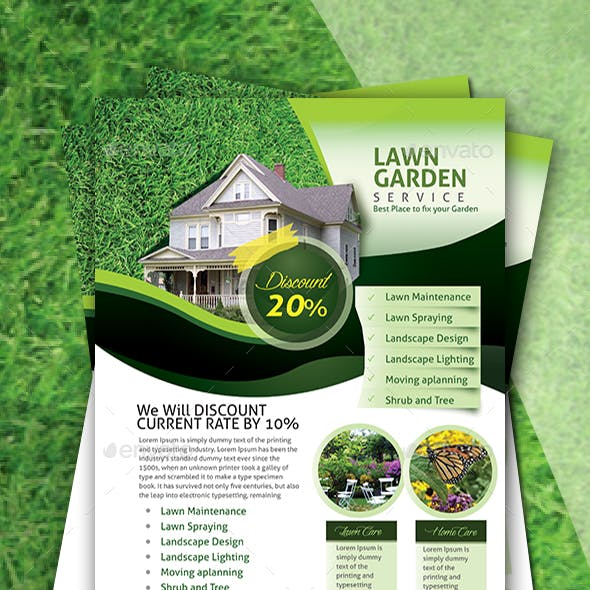 Landscape Flyer Graphics Designs Templates From Graphicriver