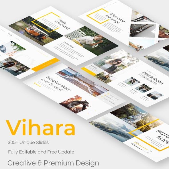 Vihara Premium Google Slide Template
