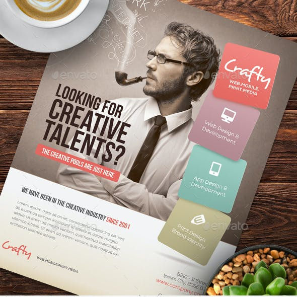 Creative Design Agency Flyers