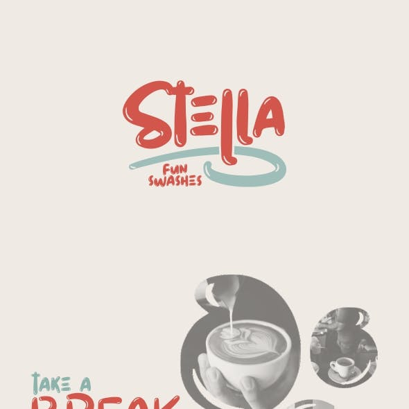 Stella Display Fonts