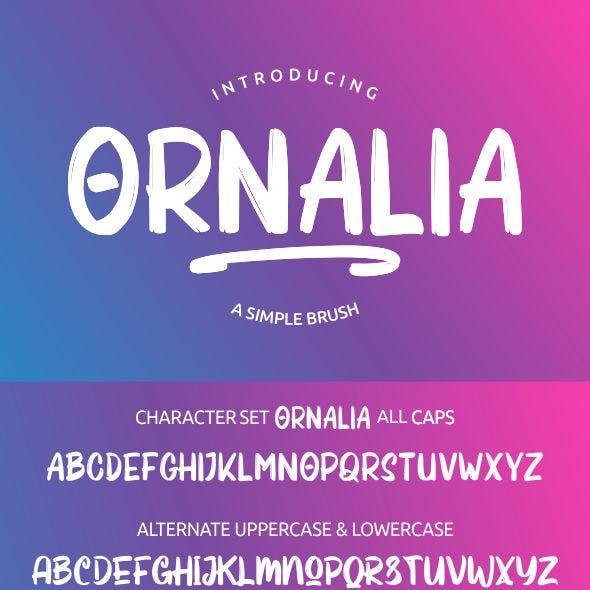 Ornalia