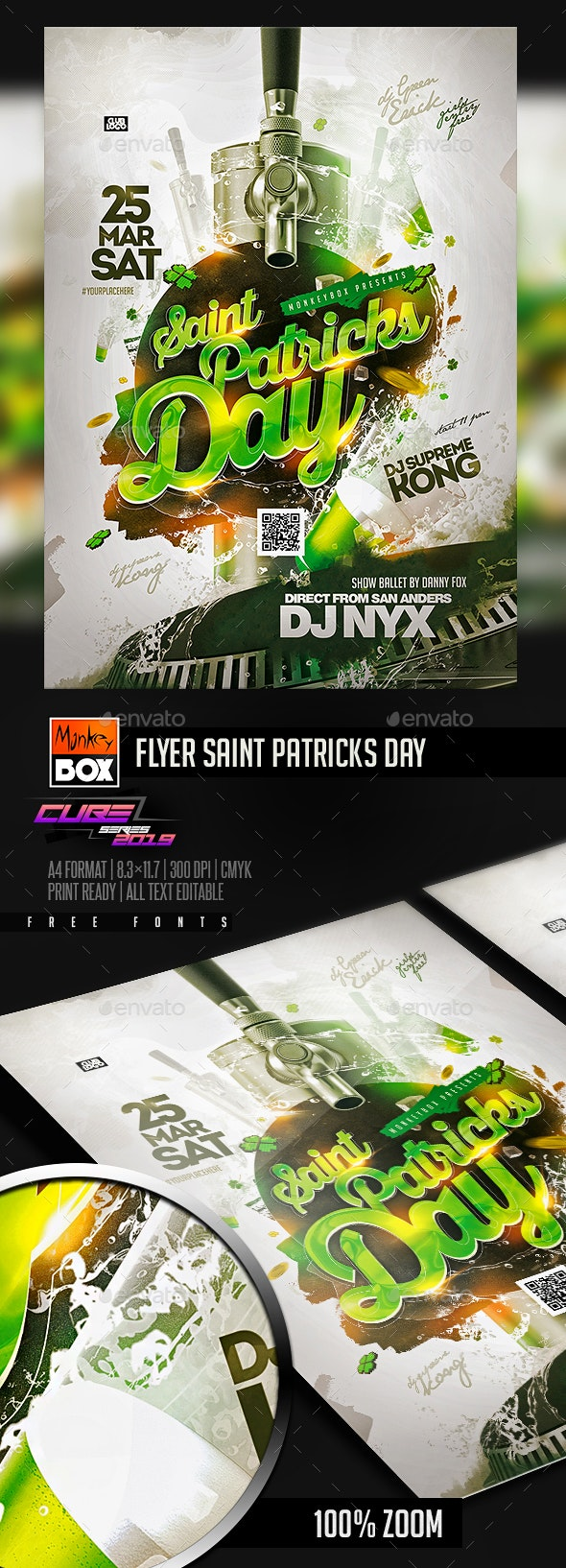 Flyer Saint Patricks Day - Clubs & Parties Events