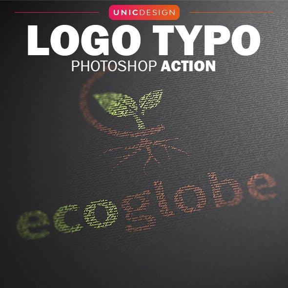 Logo Typo Photoshop Action