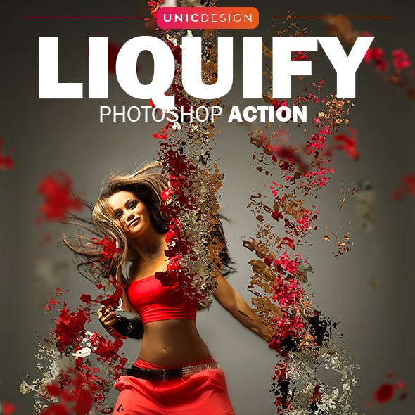 Liquify Photoshop Action