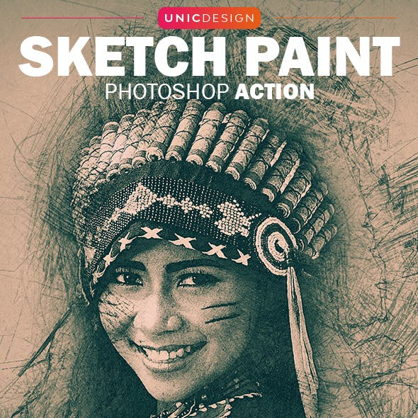 Sketch Paint Photoshop Action